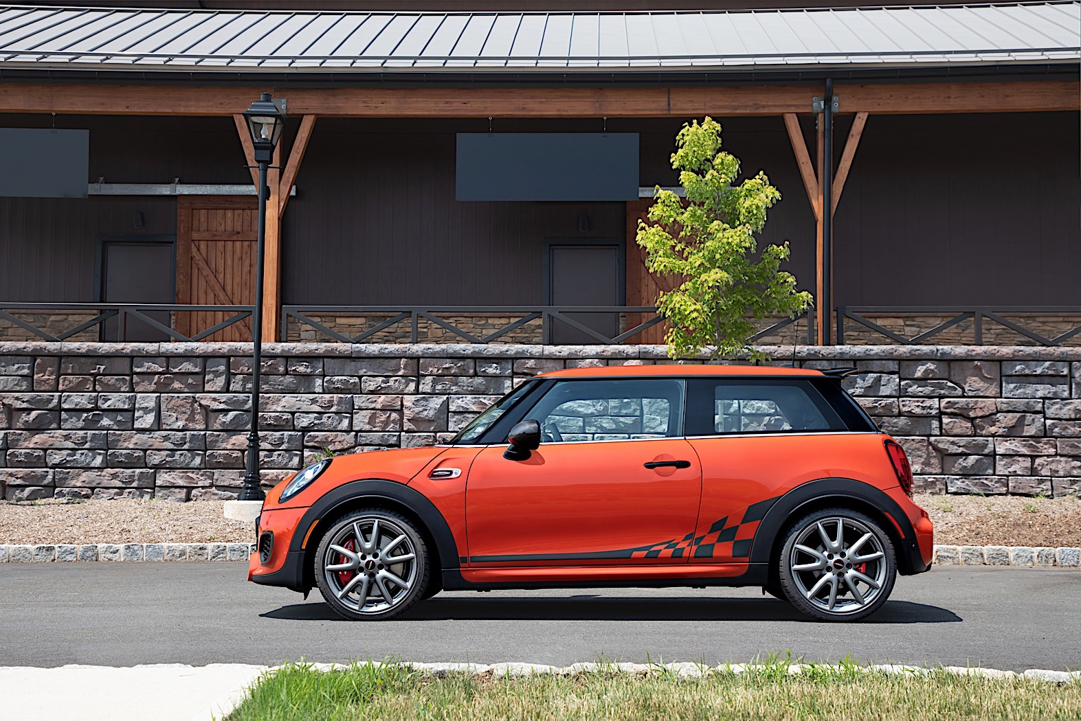 Mini Takes The States With New Jcw International Orange Edition