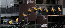 MINI UK Supports Red Bull Art of Motion Free-running Event