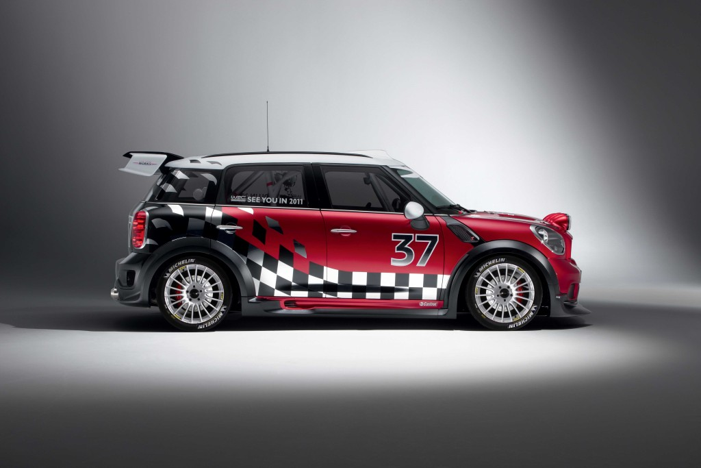 MINI Unveils Final Rally Car for 2011 [Gallery] - autoevolution