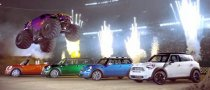 MINI vs. Monster Slow Motion 3D Film Unveiled [Video]