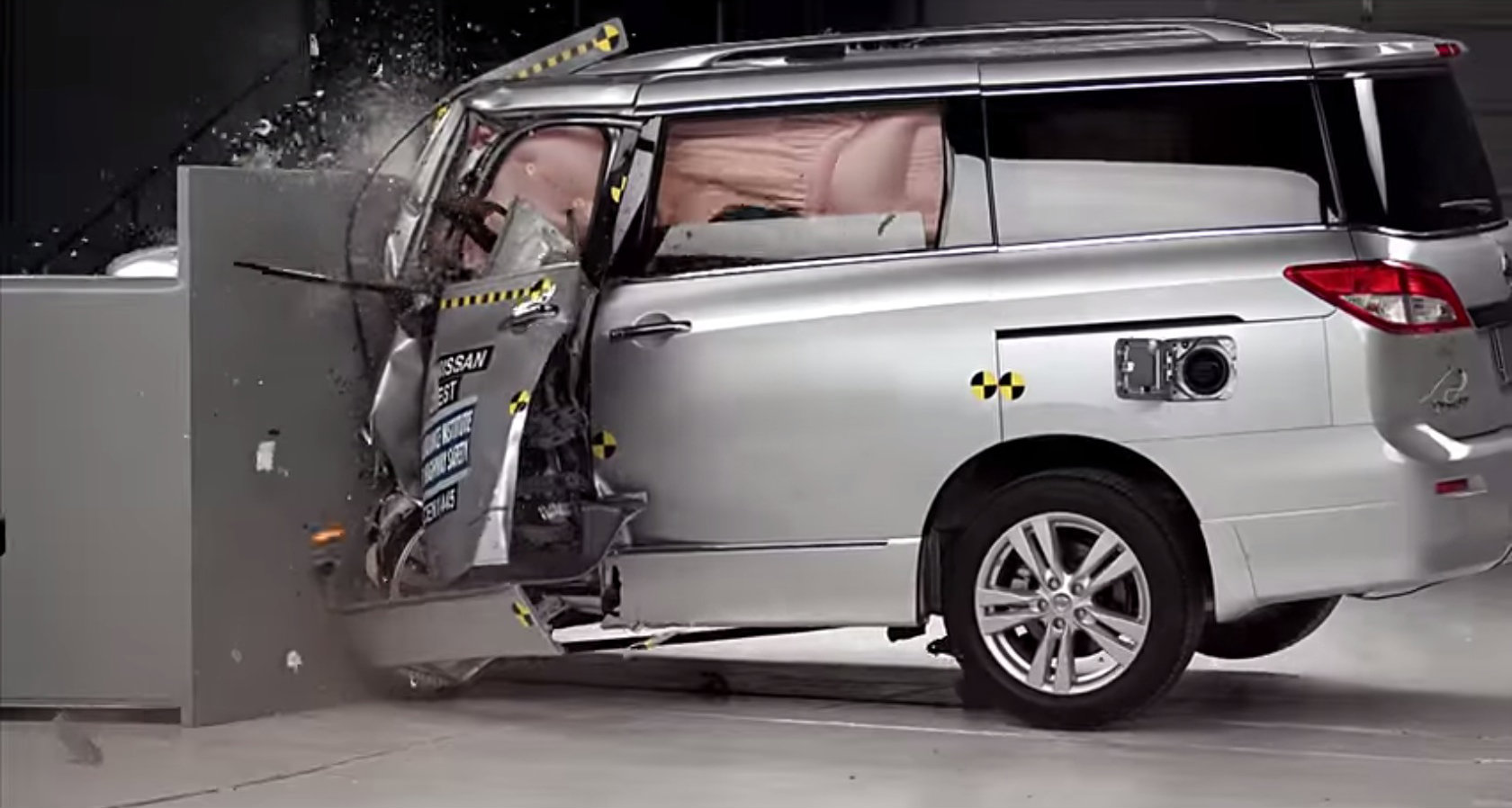 Minivans Disappoint In Latest Round Of Iihs Crash Tests on 2015 Dodge Grand Caravan