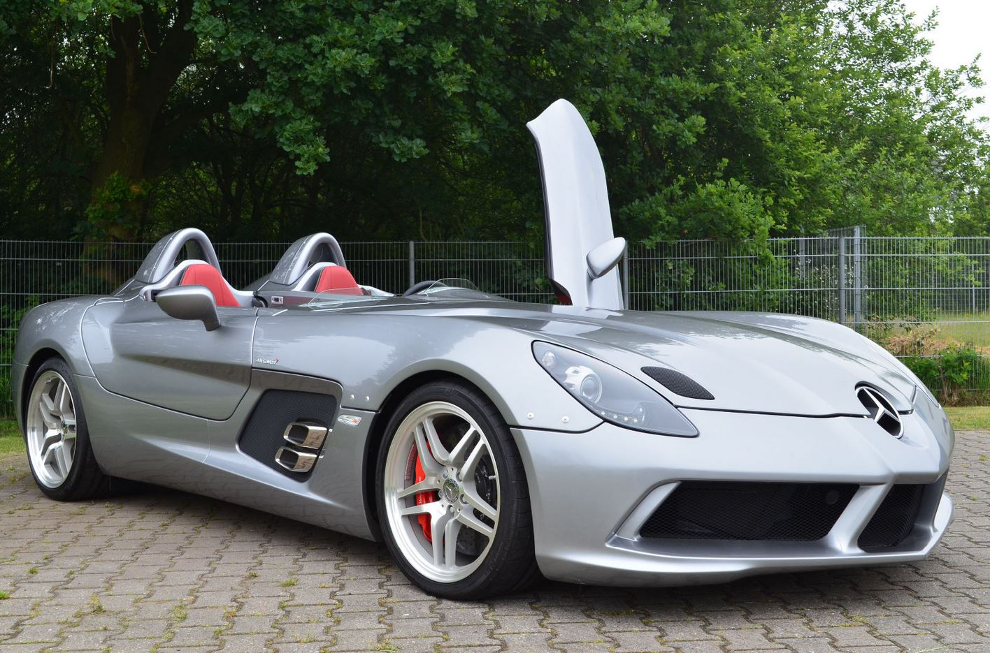 mint mercedes slr stirling moss for sale at 4 million   autoevolution