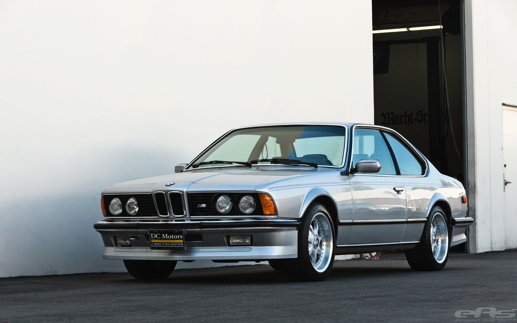 Mint Polaris Metallic BMW E24 M6 Visits EAS  autoevolution