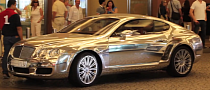 Mirror-Wrapped Bentley in Dubai [Video]