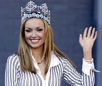 Rosanna Davison, 2003 Miss World