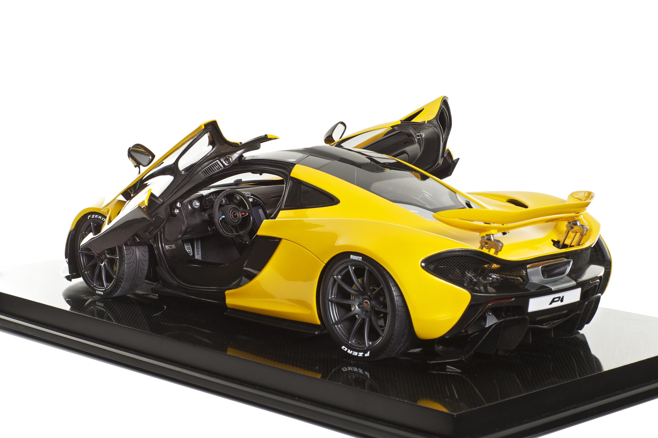 missed the chance to buy a mclaren p1 how about a miniature one autoevolution. Black Bedroom Furniture Sets. Home Design Ideas