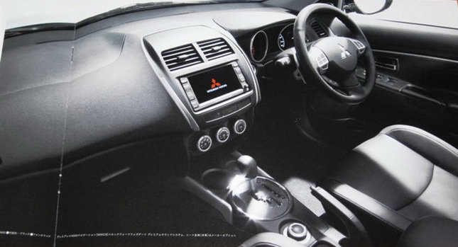 Used Dodge Viper >> Mitsubishi ASX Crossover Interior Leaked Photo - autoevolution