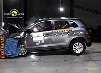 The ASX is a pretty safe ride, says Euro NCAP