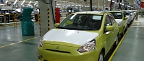 Mitsubishi Begins Production of the Mirage in Thailand
