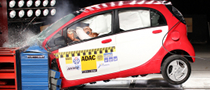 Mitsubishi i-MiEV Crash-Tested by ADAC