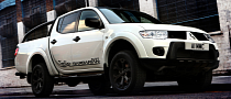 Mitsubishi L200 Barbarian Black Launched in the UK