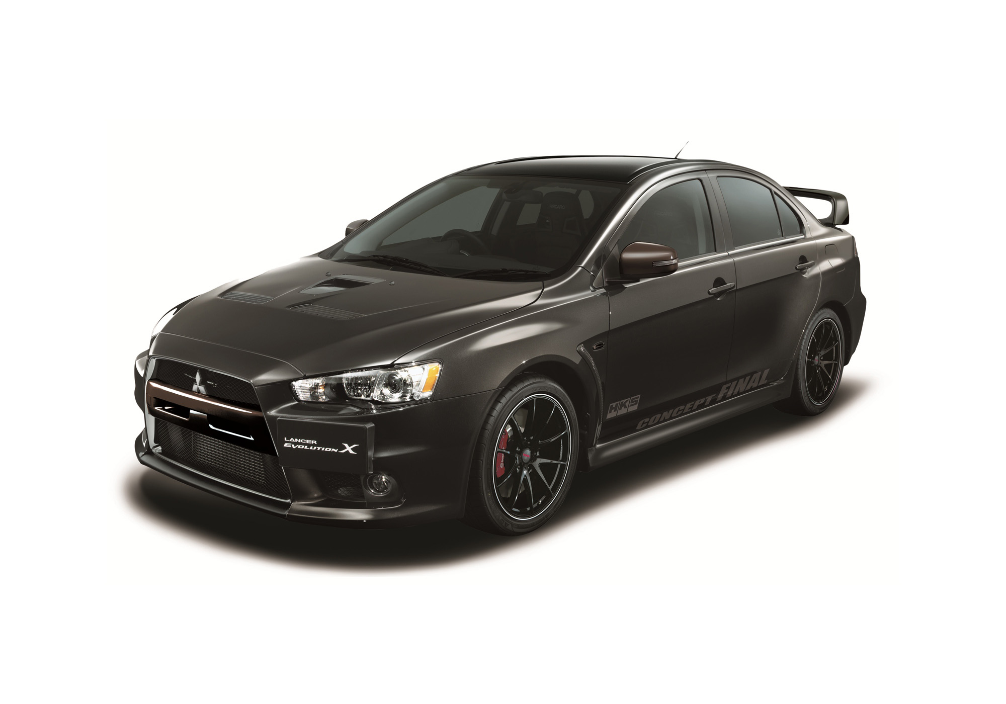 mitsubishi lancer evo x final concept boasts with 473. Black Bedroom Furniture Sets. Home Design Ideas