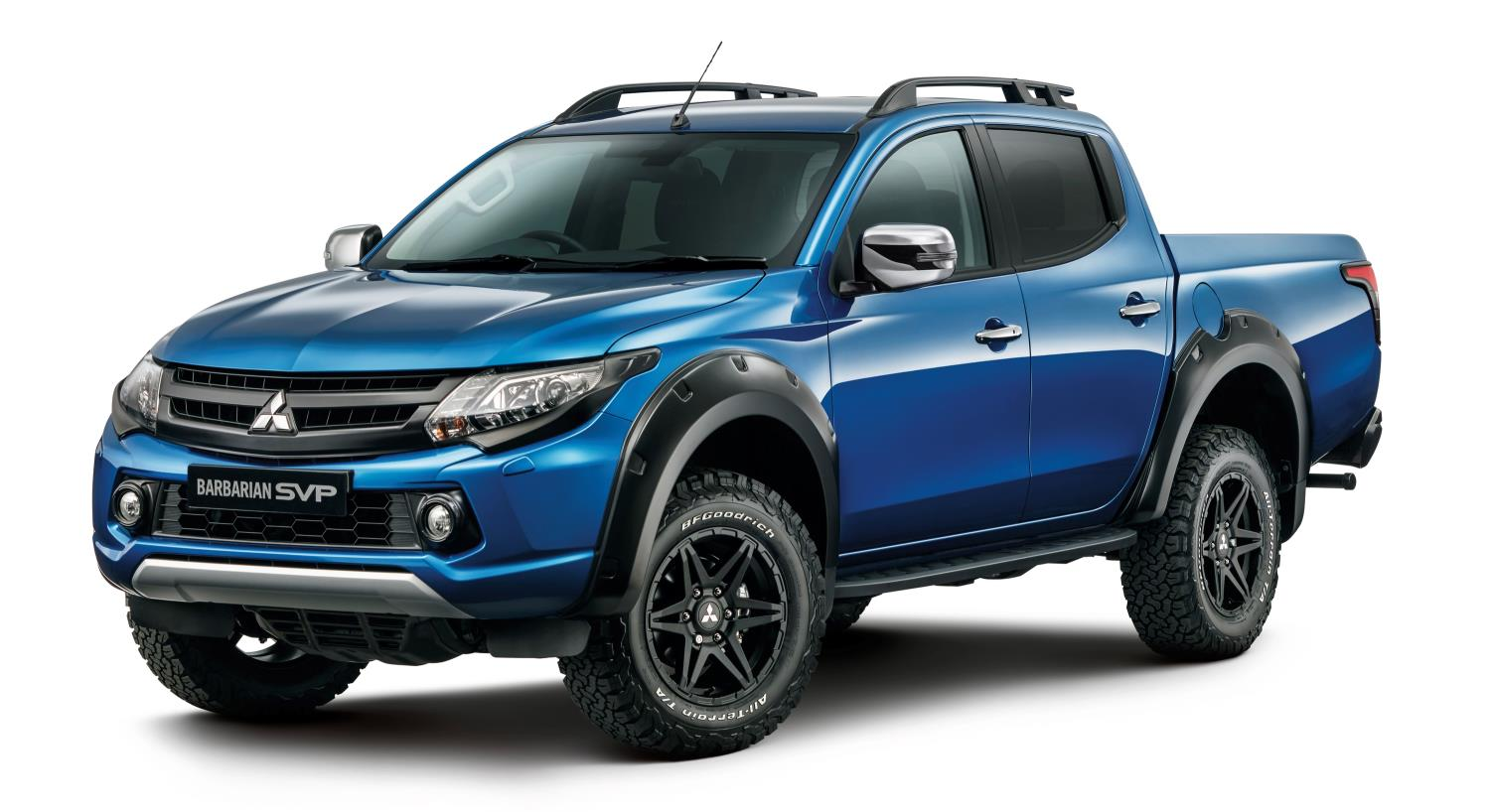 Mitsubishi Triton Barbarian SVP - limited to 250 units