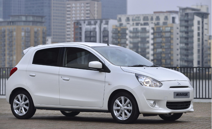 Mitsubishi Mirage: UK Prices and Specs Announced [Photo Gallery]