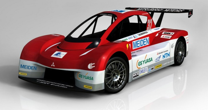 Mitsubishi Readies i-MiEV Evolution for Pikes Peak 2012