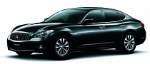 Mitsubishi Rebadges Infiniti M to Create Proudia and Dignity