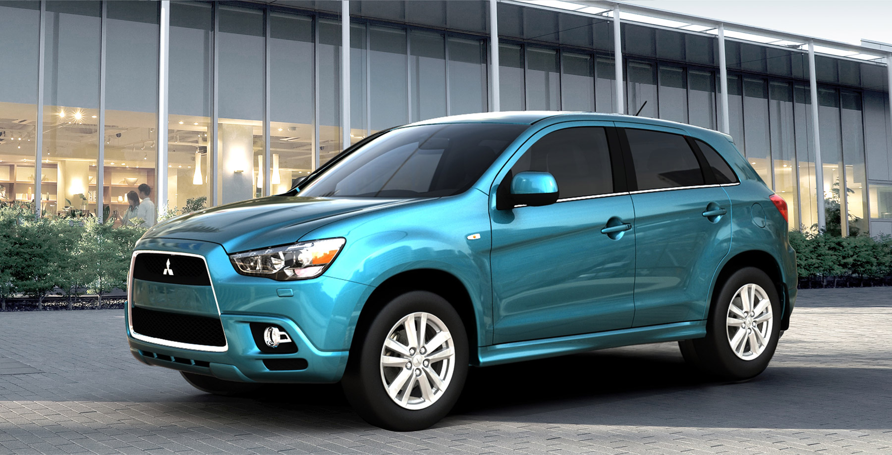 Once Driven Reviews >> Mitsubishi RVR Compact Crossover Unveiled - autoevolution