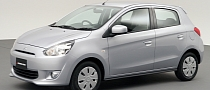 Mitsubishi Unveils Mirage Global Compact Hatchback [Photo Gallery]