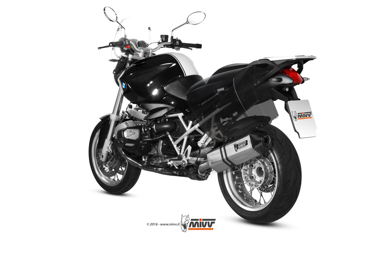 Mivv Unveils New Exhausts For Bmw R1200r And Suzuki Sv650