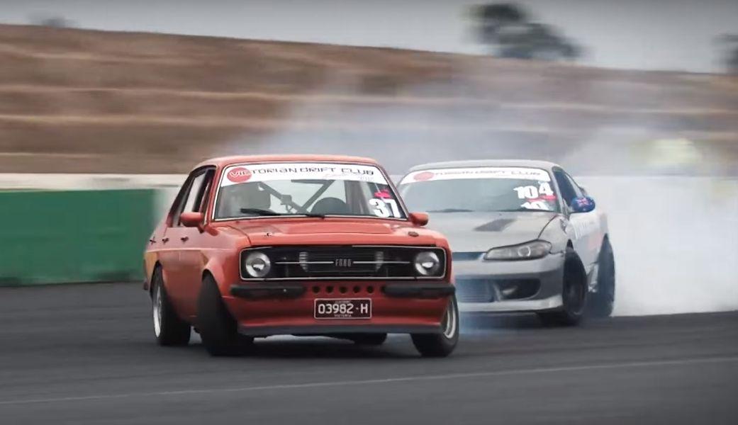 Mk Ii Ford Escort Drift Car Is Your Unusual Aussie Sideways