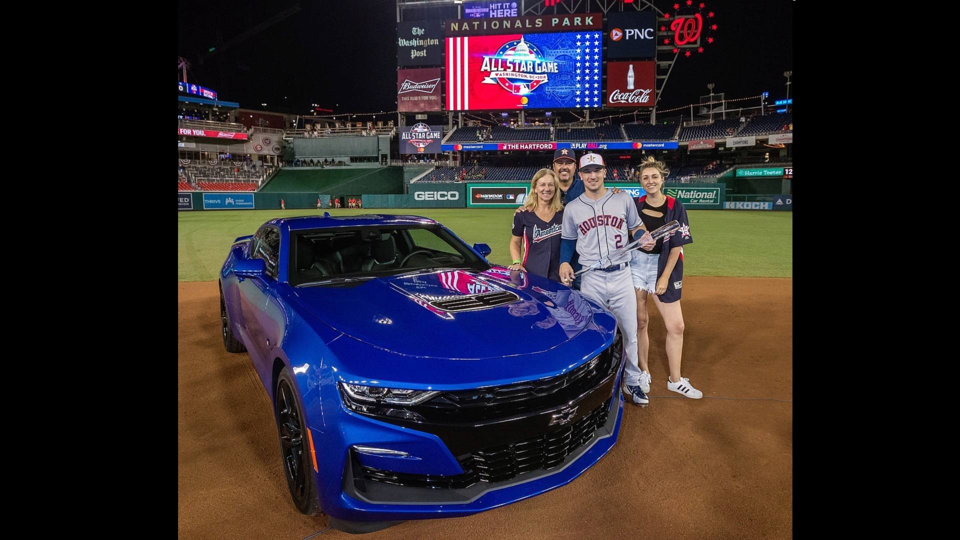 Mlb All Star Game Mvp Receives Brand New 2019 Chevrolet