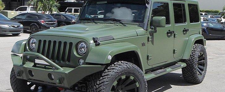Mlb Star Cameron Maybin Customizes His Jeep Wrangler