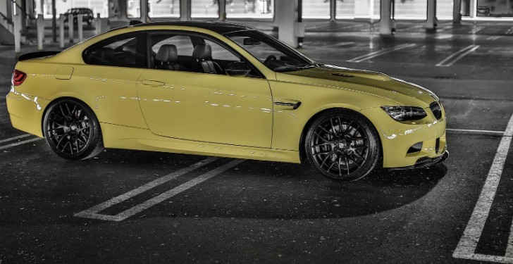 Mode Carbon Presents: Dakar Yellow BMW E92 M3 [Photo Gallery]