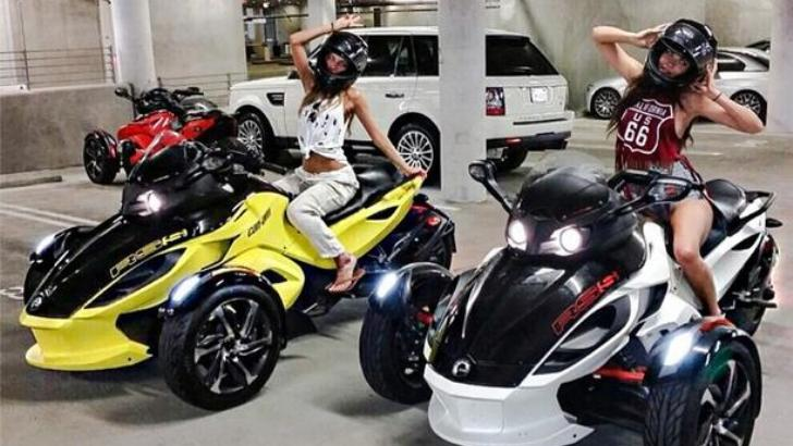 Audi Of Huntington >> Model Aarika Wolf Makes Can-Am Look Like a Motorcycle For Gods - autoevolution
