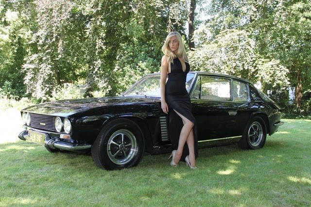 Auto Insurance Companies List >> Model Harriadnie Beau to Unveil Restored Jensen FF at NEC Classic - autoevolution