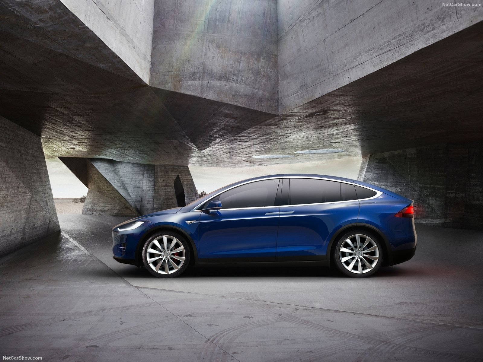 "Tesla Model S Custom >> Model X and Custom Arachnid 21"" Wheels as Prize for Tesla's New Referral Program - autoevolution"