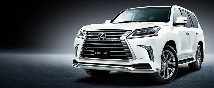 modellista has a wide body kit for the 2016 lexus lx 570 only japan will get it autoevolution. Black Bedroom Furniture Sets. Home Design Ideas