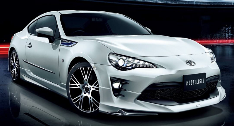 2017 Toyota Gt 86 Gets Modellista Body Kit In Japan