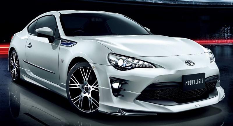 2017 Toyota Gt 86 Gets Modellista Body Kit In Japan