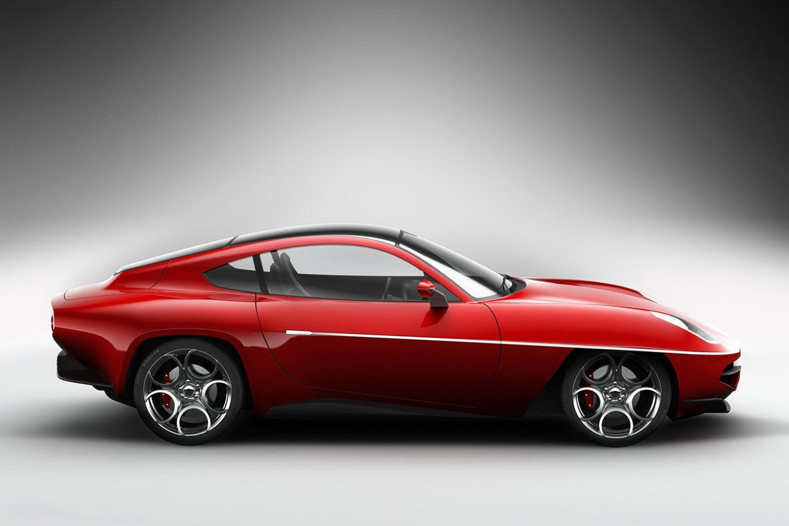 Alfa Romeo Disco Volante >> Modern Alfa Romeo Disco Volante Revealed Autoevolution