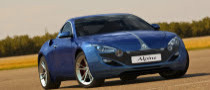 Modern Day Renault Alpine Rendered