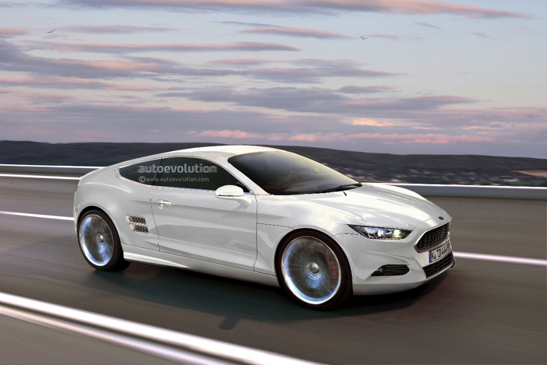 Modern Ford Capri Speculatively Rendered Autoevolution