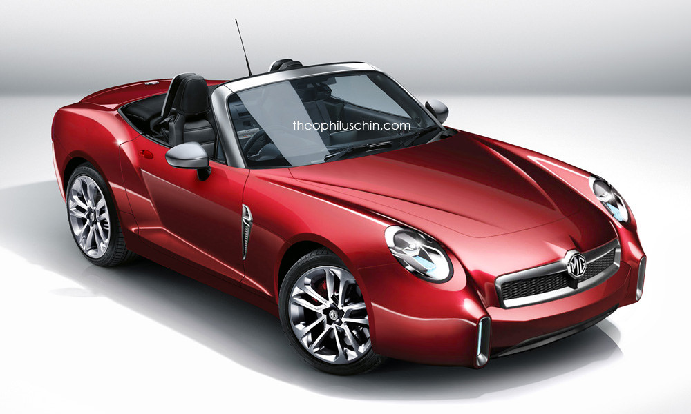 Modern MG Roadster Is Only a Digital Dream Based on the ...