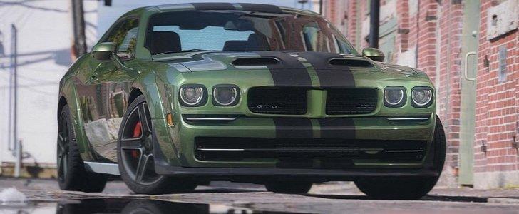 modern pontiac gto looks sleek shows retro styling surprise autoevolution modern pontiac gto looks sleek shows
