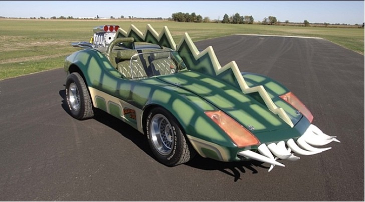 Modified 1975 Corvette C3 Frankenstein Drove In Death Race