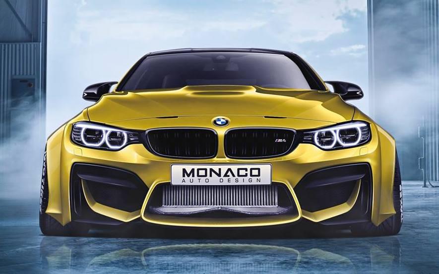 Monaco Auto Design Creates Ultra Wide Body BMW M4 - autoevolution