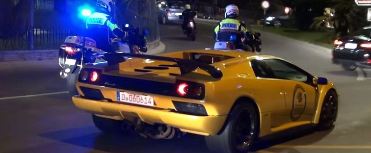 Police Stopping Supercars in Monaco Is Part of The Action