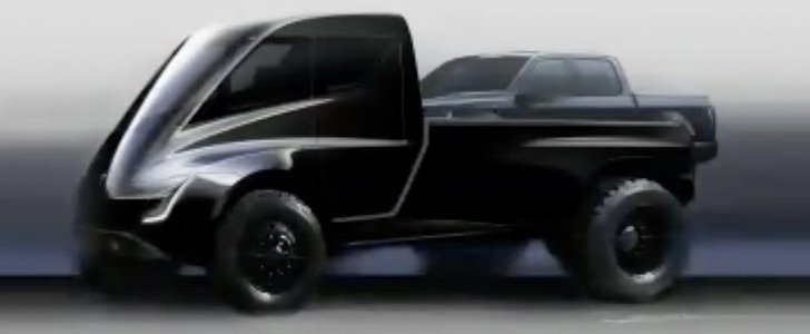 Monster Tesla Pickup Truck Confirmed To Follow The Model Y Electric Crossover Autoevolution