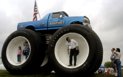 Monster Truck Icon Bigfoot Autoevolution