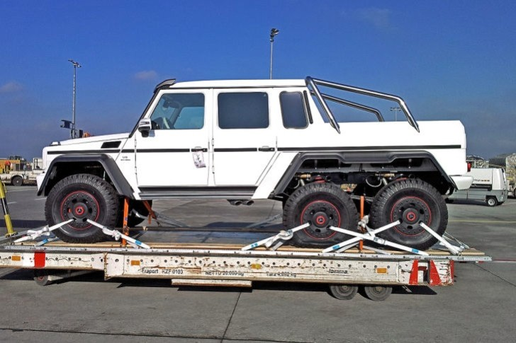 Monstrous Mercedes G63 AMG Has 6 Wheels [Photo Gallery]