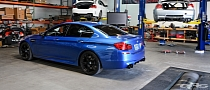 Monte Carlo Blue BMW M5 Leaves EAS Upgraded [Photo Gallery]