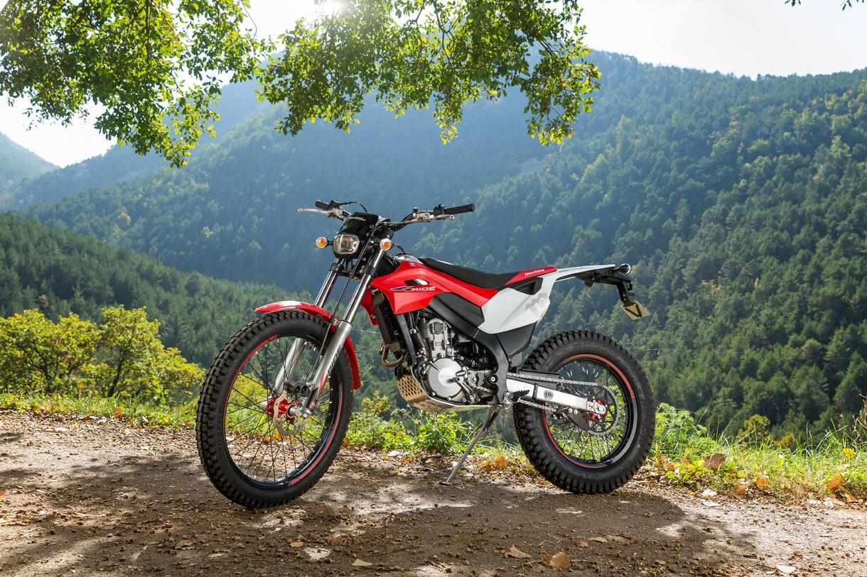 Montesa 4ride Is A Fantastic Go Anywhere Street Legal Trial Bike