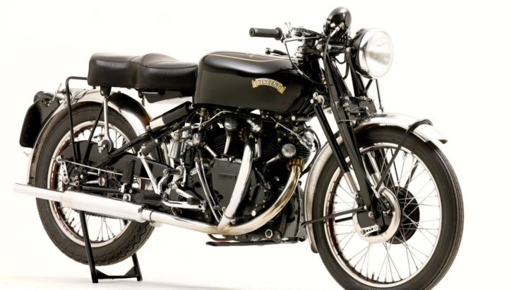 Montlhery Vincent Black Shadow Historic Bike for Sale