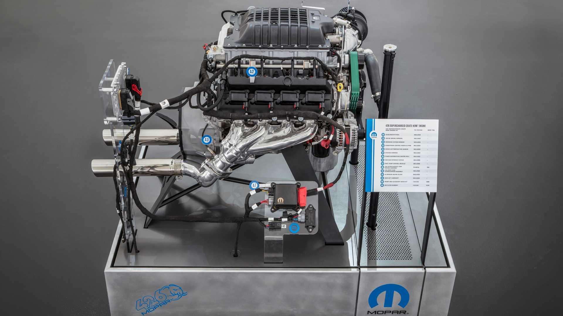 Mopar unveils 986 BHP 'Hellephant' engine; pre-orders begin