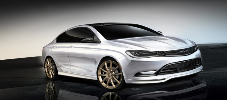 Mopar-modified 2015 Chrysler 200 Coming at Chicago Auto Show