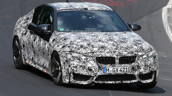 More BMW F82 M4 Spyshots Hit the Web [Photo Gallery]